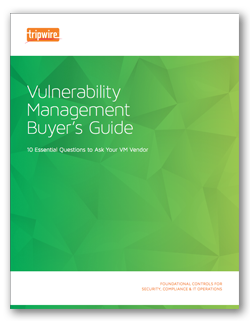 Vulnerability Management Buyer's Guide