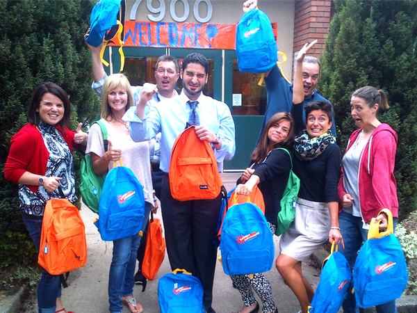 Tripwire 'adopted' King Elementary School, providing all supplies to a Head-Start classroom and each of its students.