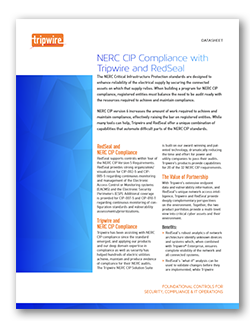 NERC CIP Compliance with Tripwire and RedSeal