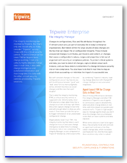 File Integrity Monitoring with Tripwire Enterprise
