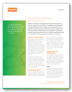 Tripwire for DevOps: All-in-One SaaS Security