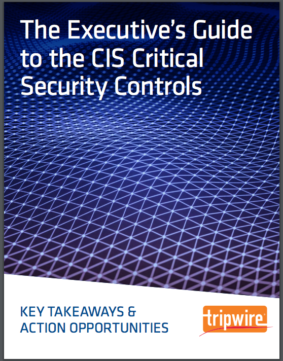 Executive's Guide to the CIS Critical Security Controls