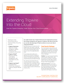 Extending Tripwire Into The Cloud