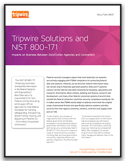 NIST 800-171 Solution Brief