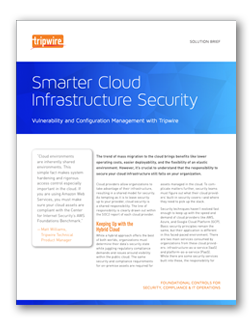 Tripwire Smarter Cloud Infrastructure Solution Brief
