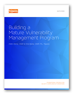 Building a Mature Vulnerability Management Program Screenshot