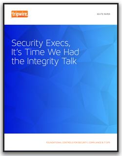Security Execs, It's Time We Had the Integrity Talk
