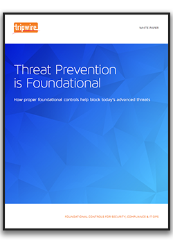 Threat Prevention is Foundational