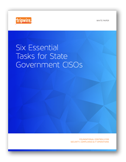 Tripwire Six Tasks for State CISOs