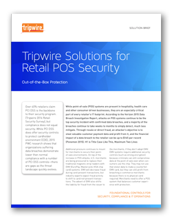 Tripwire Solutions for Retail POS Security